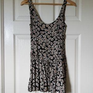 Black floral Brandy Melville dress